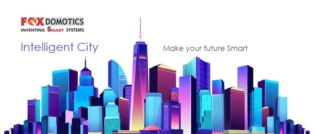 foxDomotics-smart-city-concept