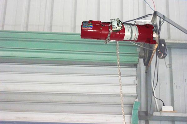 Rolling shutter motor fds 300kg 1p fox domotics for Roller shutter motor installation