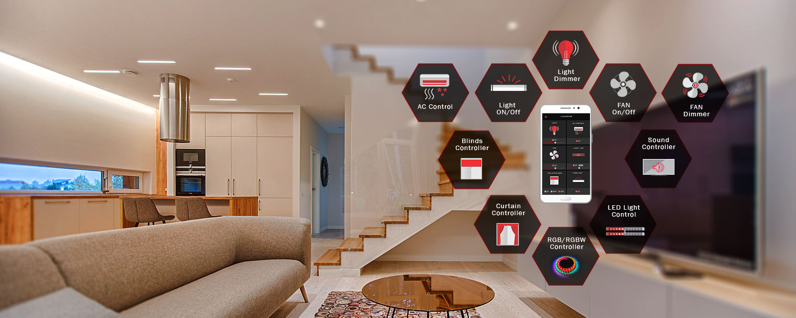 Wifi Light Switches by Fox Domotics